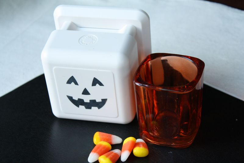 Pumpkin Treat Holders Supplies - Yesterday on Tuesday #halloween