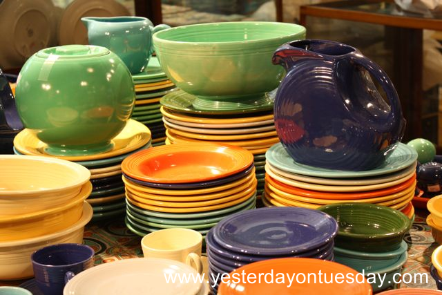 Vintage Fiestaware - Yesterday on Tuesday