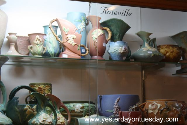 Vintage Roseville Pottery - Yesterday on Tuesd