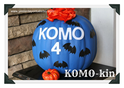 Komo-kin - Yesterday on Tuesday #pumpkin