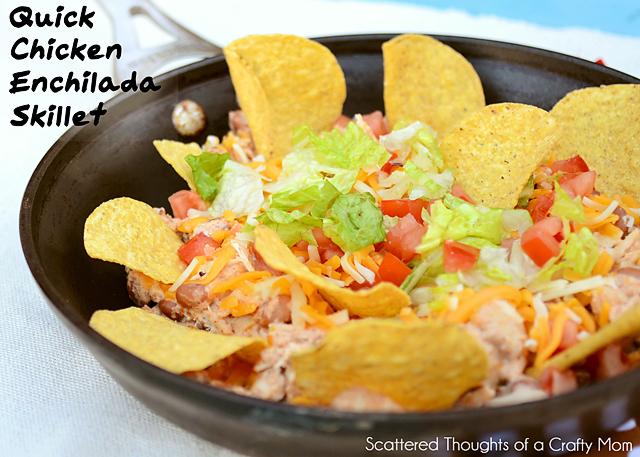 Enchilada-skillet