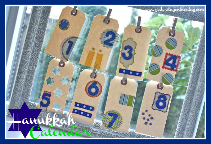 Hanukkah Calendar - Yesterday on Tuesday #hanukkah