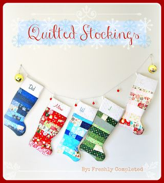 Quilted stockings