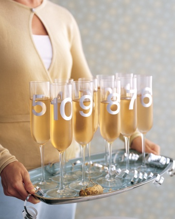 Champagne Glasses - Martha Stewart