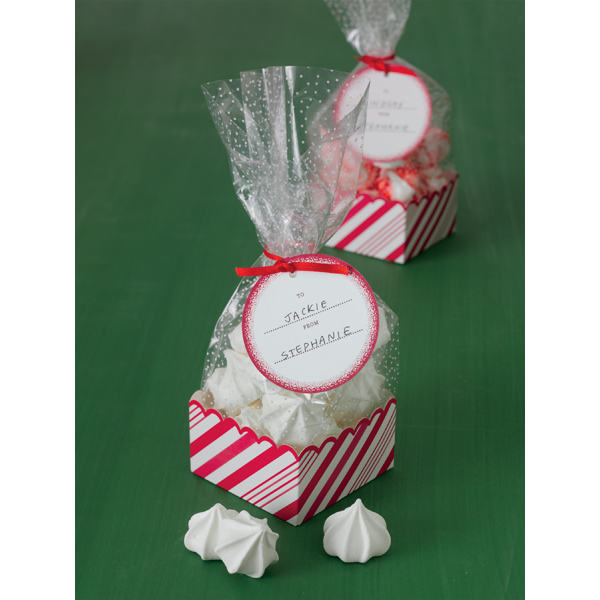 Candy Cane Treat Bags - Martha Stewart Crafts