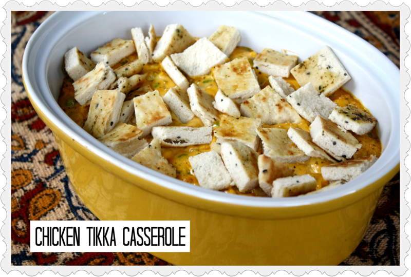 Chicken Tikka Casserole - Yesterday on Tuesday #worldmarket #recipe #chicken recipe
