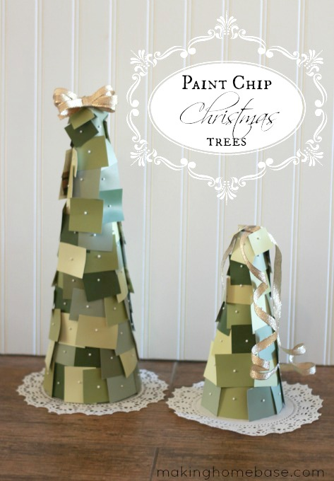 Paint Chip Christmas Tree