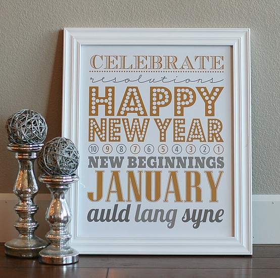 New Years Printable - Eighteen25