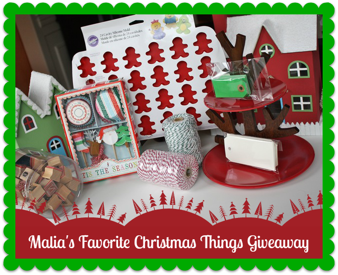 Malia's Favorite Christmas Things Giveaway - YoT