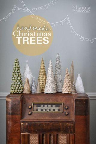 Handmade Xmas Trees