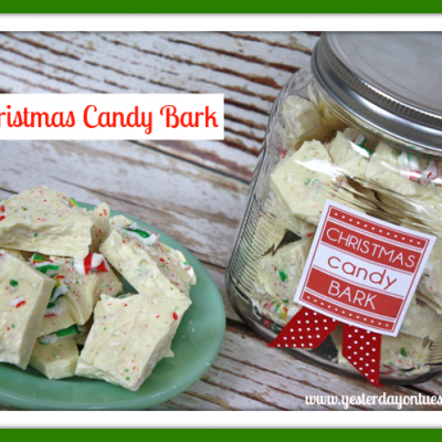 Easy Christmas Candy Bark