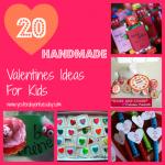 20 Handmade Valentines Ideas for Kids #valentines #kidsvalentines