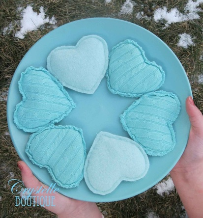 Heart Handwarmers - Crystelle Boutique