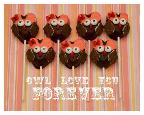 Owl Valentine Treats - Rook No.17