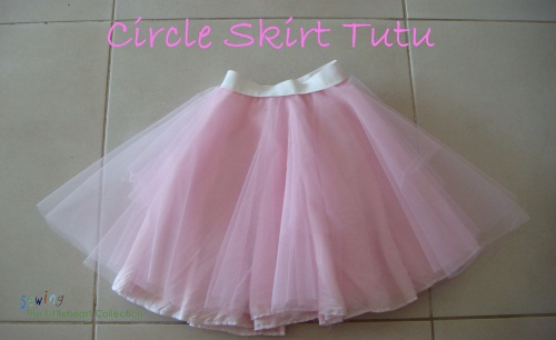 Circle Tutu Skirt - Sew TLC