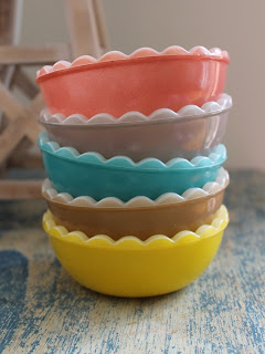 Pyrex Bowls - Little Betty Designs