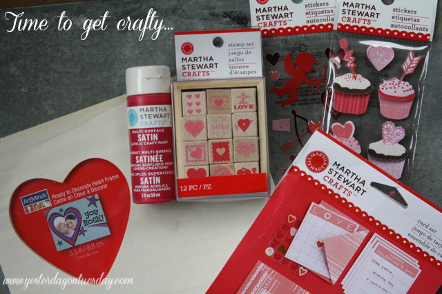 Review Martha Stewart Crafts Valentine Themed Items
