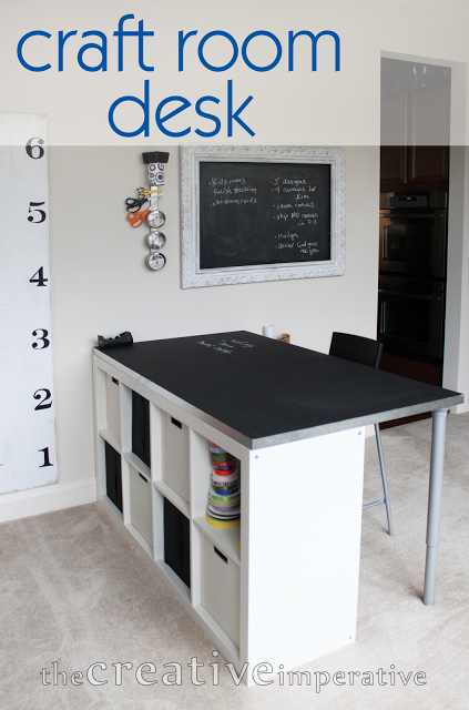 Craft Room Desk - The Creative Imperative