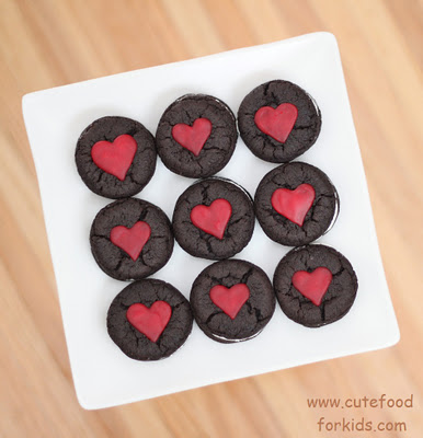 Oreo Cakesters for Valentines Day - Cute Food for Kids
