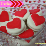 Simple Heart Cookies perfect for Valentine's Day #valentinesday