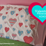 Valentine's Day Pillowcase