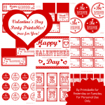 Free Mega Set of Valentine's Day Printables