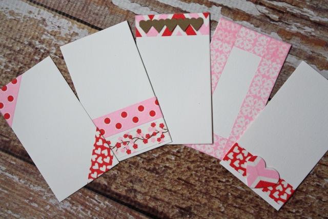 Valentine Coundown Calendar - YoT #valentinesday #valentine #valentinecalendar #washi