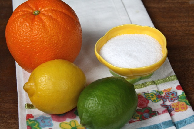 Make Your Own Citrus Salt - #yesterdayontuesday #salt #citrussalt #diysalt