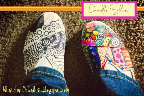 Doodle Shoes - Whatcha.McCall.It.