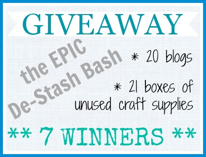 Epic De-Stash Giveaway