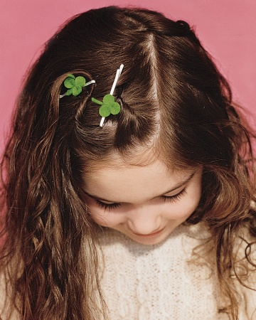 Clover Hair Pin - Martha Stewart