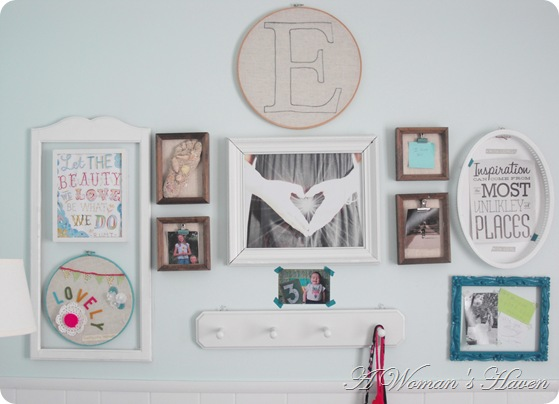Bedroom Gallery Wall - One Woman's Haven