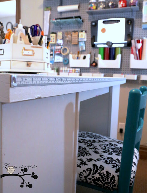 Measuring Craft Table - Lookie What I Did