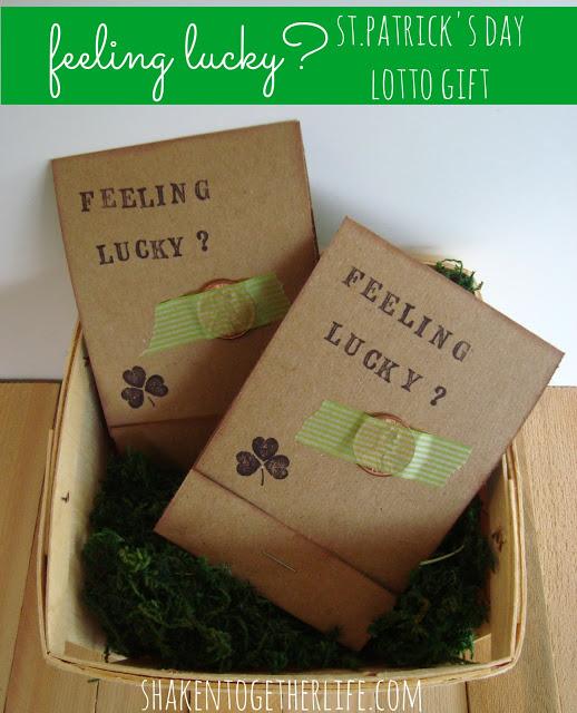 Feeling Lucky Lotto Gift - #shakentogetherlife