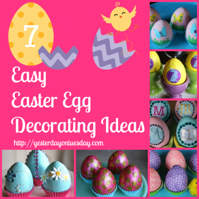 7 Easy Easter Egg Decorating Ideas