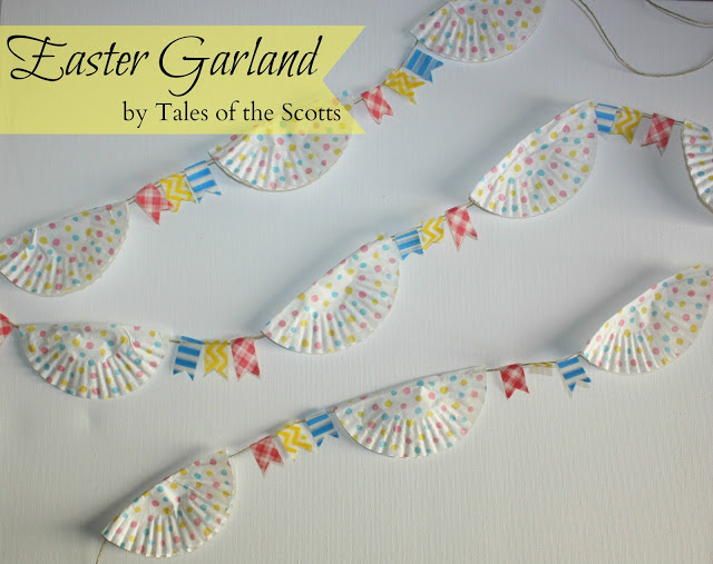 Easter Garland - Tales of the Scotts