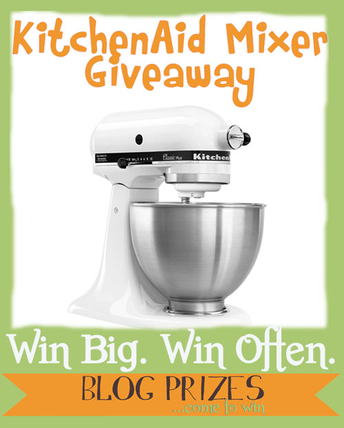 Giveaway: KitchenAid Mixer