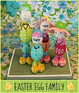 Using Easter eggs to craft a family