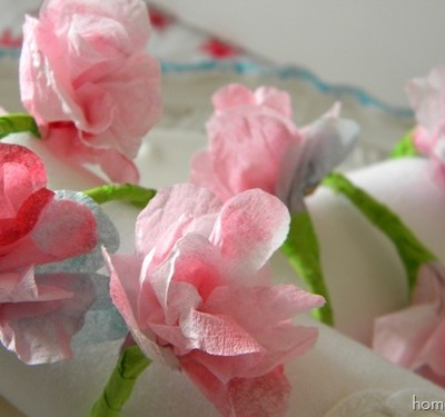Spring Napkin Rings Project