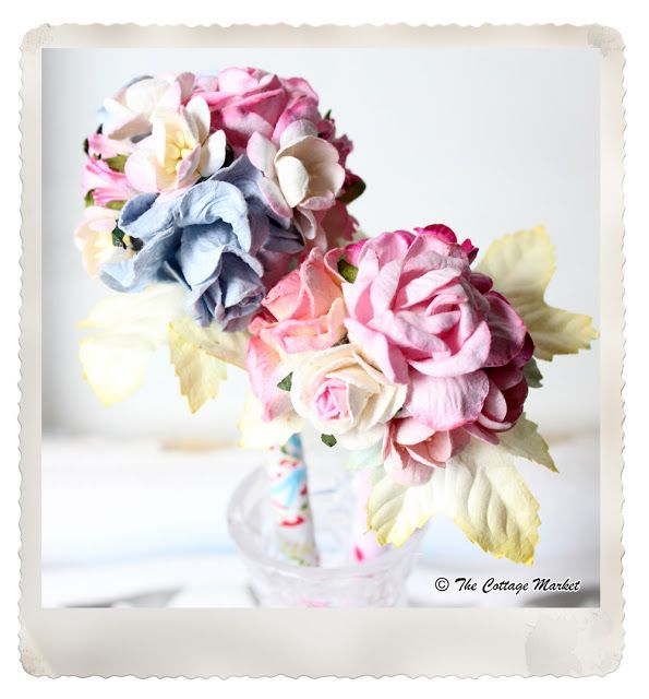 DIY Floral Pen - The Cottage Market