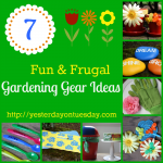 Dollar Store Gardening Ideas