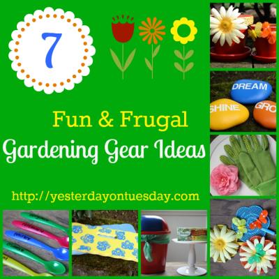 7 Fun and Frugal Gardening Gear Ideas