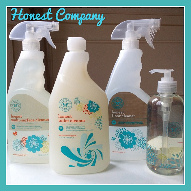 Honest Company eco-friendly cleaning products