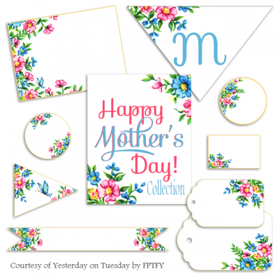 FREE Vintage Mother's Day Party Printables