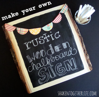 rustic wooden chalkboard sign 2 BLOG