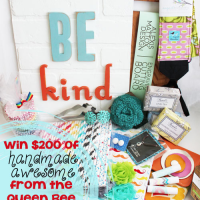 Win $200 worth of handmade products from The Queen Bee Market