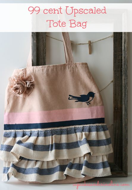 99 cent Upscaled Tote Bag