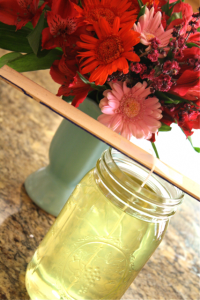 DIY Soy Citronella Candles