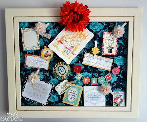 Chicken Wire Memory Board