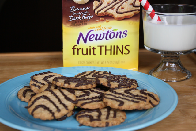 Newtons Fruit Things Banana Drizzled with Dark Fudge